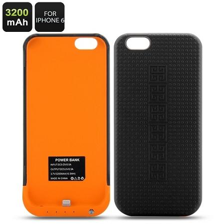 Power Bank 3200mAh and Case for iphone 6 (IP-C06).
