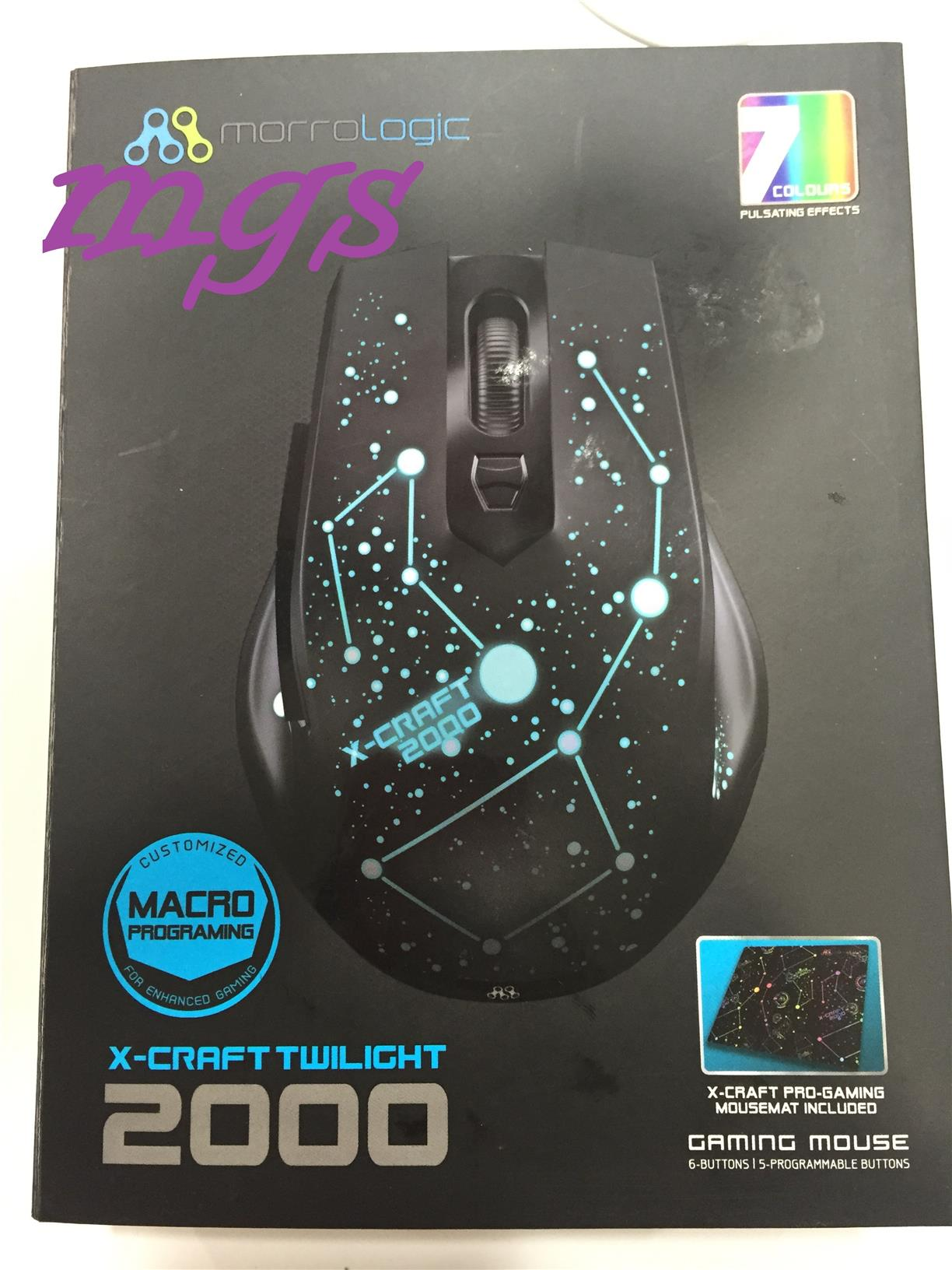 Power Logic X-Craft Twilight 2000 Gaming Mouse