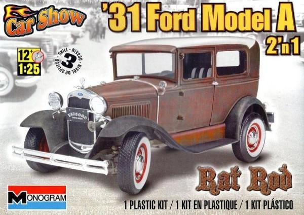 Pre order 1:25 Revell 31 Ford Model A Rat Rod 2 'n 1 Plastic Model Kit