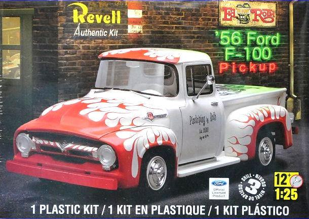 Pre order 1:25 Revell 56 Ford F-100 Pickup Plastic Model Kit