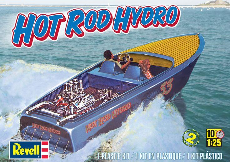 Pre order 1:25 Revell Hot Rod Hydro Plastic Model Kit