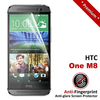Premium Anti-Fingerprint Matte HTC One M8 Screen Protector
