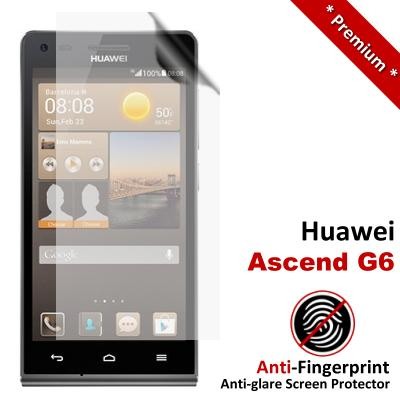 Premium Anti-Fingerprint Matte Huawei Ascend G6 Screen Protector