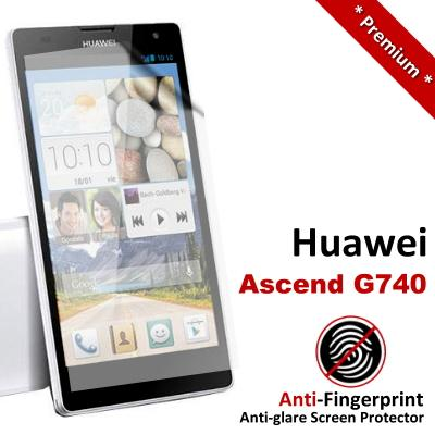 Premium Anti-Fingerprint Matte Huawei Ascend G740 Screen Protector