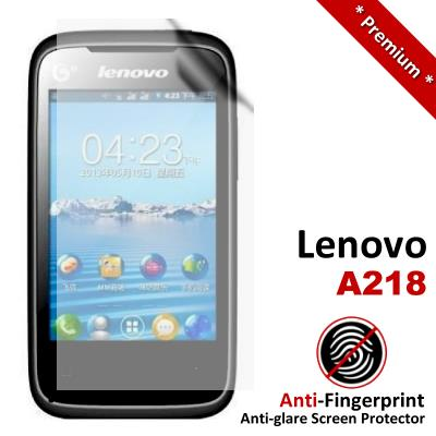 Premium Anti-Fingerprint Matte Lenovo A218 Screen Protector