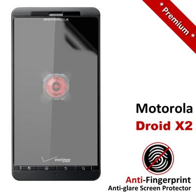 Premium Anti-Fingerprint Matte Motorola Droid X2 Screen Protector