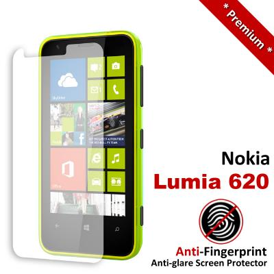 Premium Anti-Fingerprint Matte Nokia Lumia 620 Screen Protector