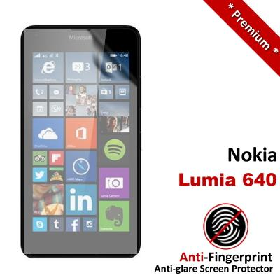 Premium Anti-Fingerprint Matte Nokia Lumia 640 Screen Protector