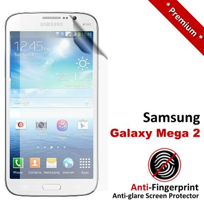 Premium Anti-Fingerprint Matte Samsung Galaxy Mega 2 Screen Protector