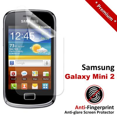 Premium Anti-Fingerprint Matte Samsung Galaxy Mini 2 Screen Protector