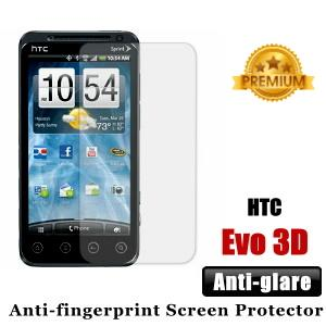 Premium Anti-glare HTC Evo 3D Screen Protector - Matte