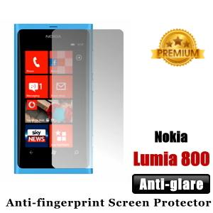 Premium Anti-glare Nokia Lumia 800 Screen Protector - Matte
