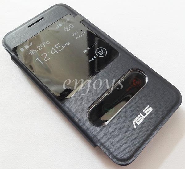 Premium BLUE S View Flip Cover Book Case Asus Zenfone C / ZC451CG