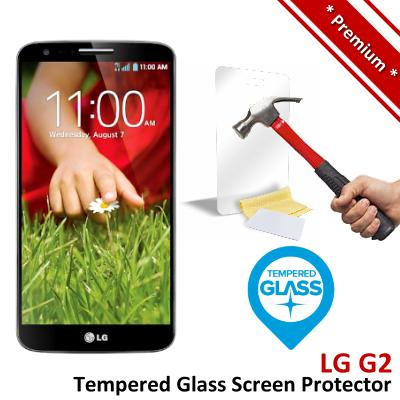 Premium Protection LG G2 Tempered Glass Screen Protector
