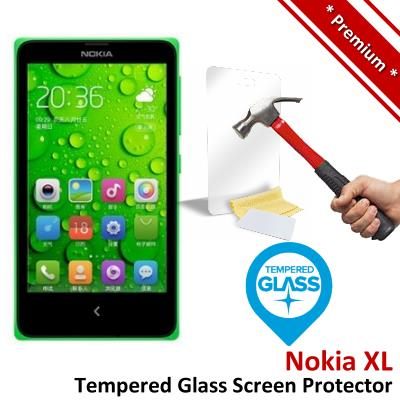 Premium Protection Nokia XL Tempered Glass Screen Protector