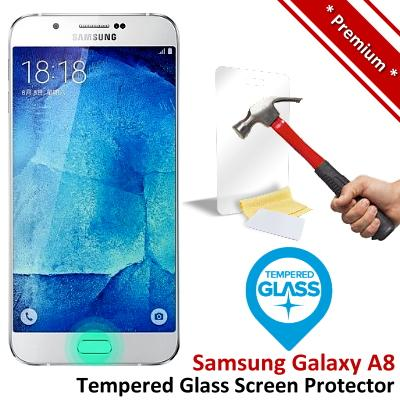 Premium Quality Samsung Galaxy A8 Tempered Glass Screen Protector