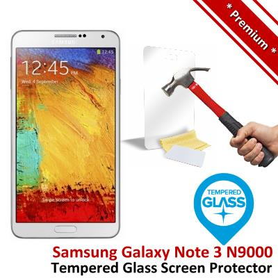 Premium Quality Samsung Galaxy Note 3 Tempered Glass Screen Protector