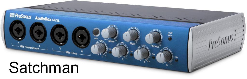 PRESONUS AudioBox 44VSL - 4x4 USB 2.0 Audio Interface (NEW)- FREE SHIP