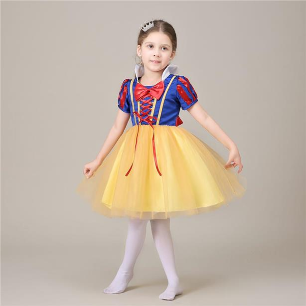 Princess Snow White Costume Dress