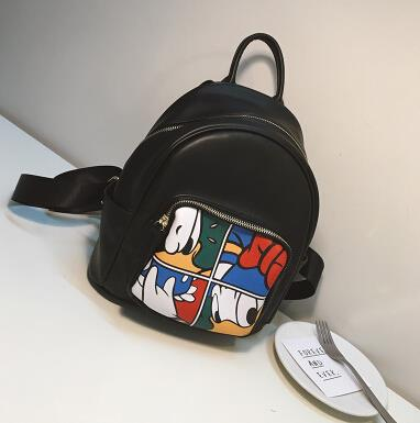 Printing Donald Duck Shoulder Bag Small backpack