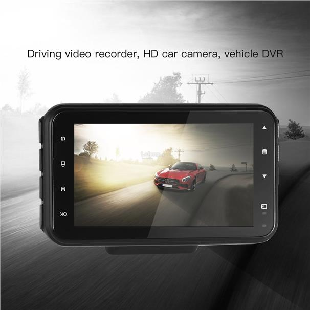 Professional Car Automatic RecordHD Vehicle DVR Driving Video Recorder