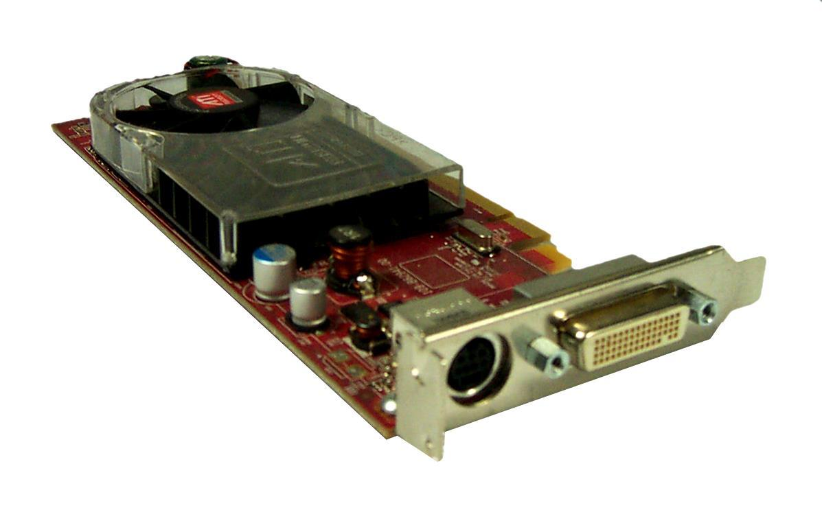 Low Profile AMD ATI HD3450 PCIE Graphic Card 256MB 64bit DMS-59 TV-OUT