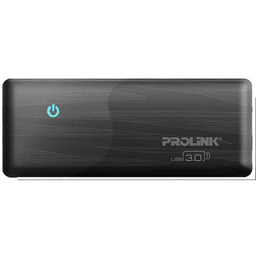 PROLINK® USB 3.0 4-Port Super-Speed Mini Hub 5Gbps (BLACK) - PUH301-BK