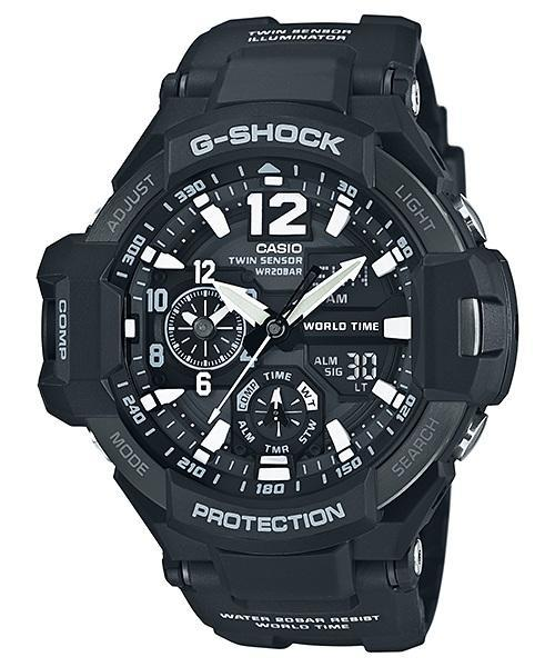 PROMO Sales G-SHOCK GA-1100-1A GRAVITY MASTER Series