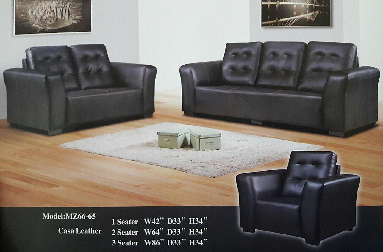 PROMOSI YEAR END SALE (1+2+3 SOFA SET) MODEL - 66-65