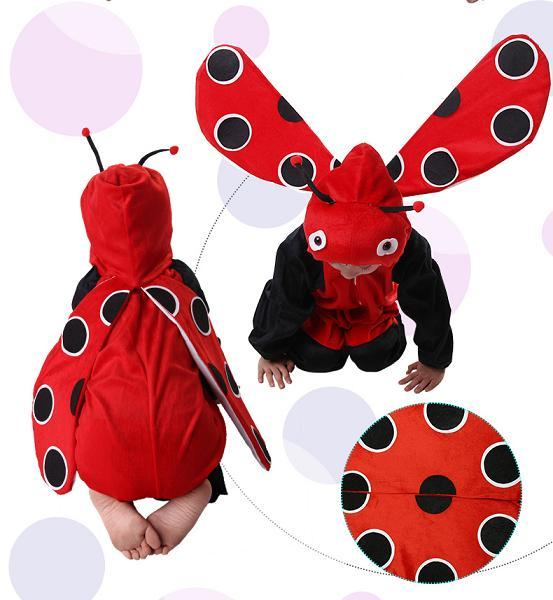 Promotion - Ladybug Cosplay Kids Animal Outfit Costume Size L