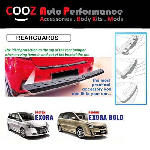 Proton Exora Exora Bolt Rear Bumper Guards