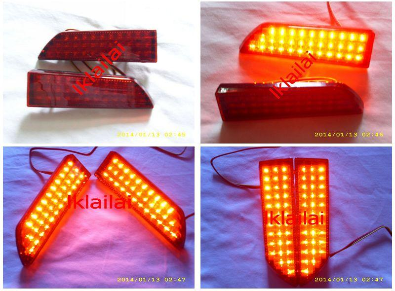 Proton Exora  Persona / Satria Neo Rear Bumper Lamp LED [Red Lens]