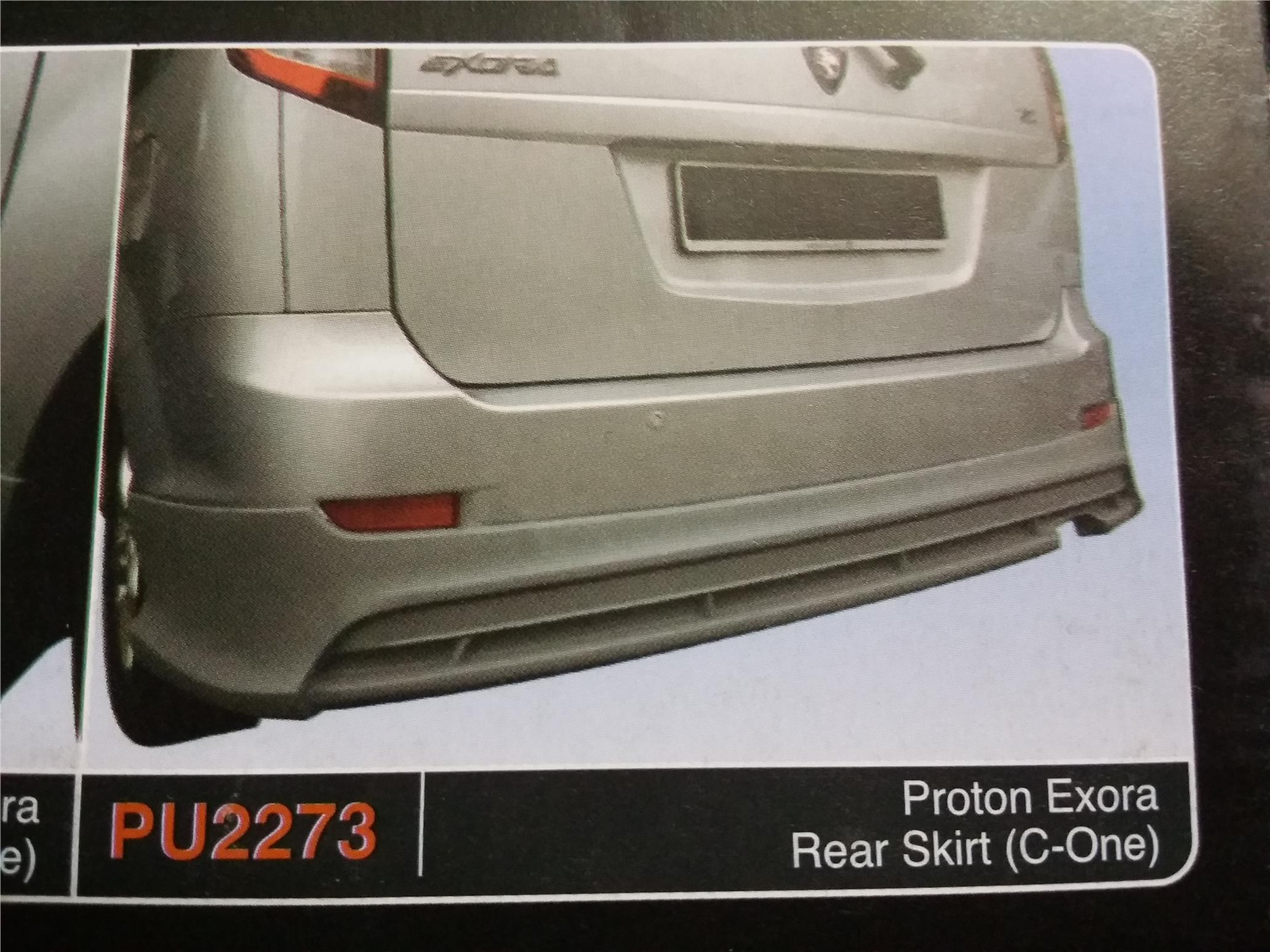 PROTON EXORA REAR SKIRT C-ONE