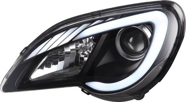 PROTON GEN2/ PERSONA C-Style DRL Light Plank Projector Head Lamp