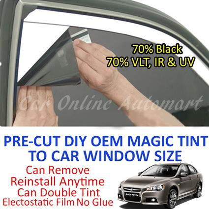 Proton Inspira Magic Tinted Solar Window ( 4 Windows & Rear Window ) 7