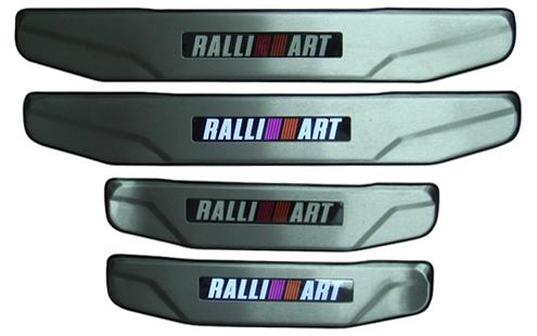 Proton Inspira RalliArt Sill Plate with LED Light