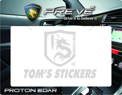 Proton Prevé‏‏ Roadtax Sticker E03