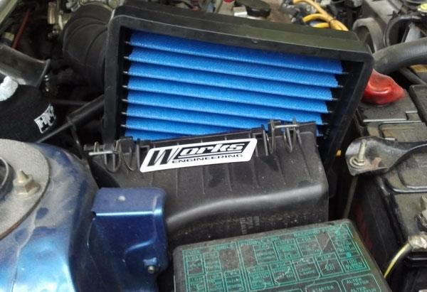 PROTON PUTRA/ SATRIA GTI (Fuel Injection) WORKS ENGINEERING Air Filter
