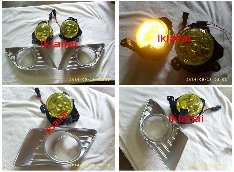Proton Saga BLM FL / FLX Fog Lamp Chrome Cover [Yellow / Blue Lens]