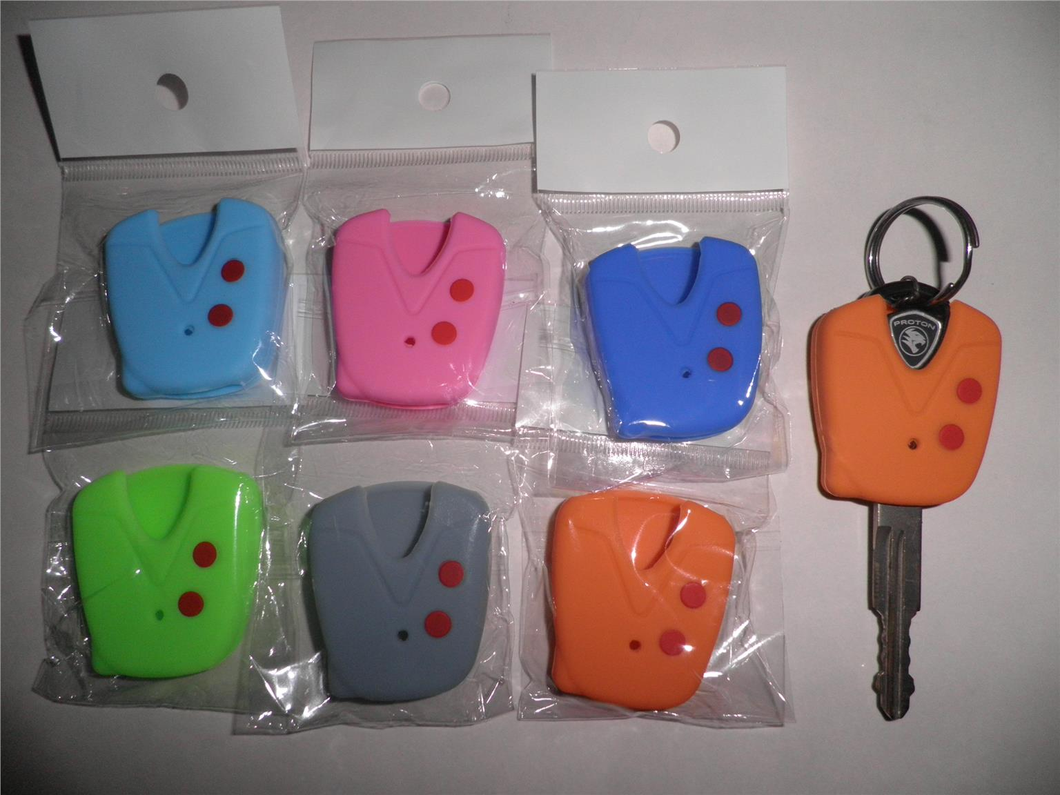 PROTON Saga Waja FLX Silicone Car Key Cover for 2 pcs