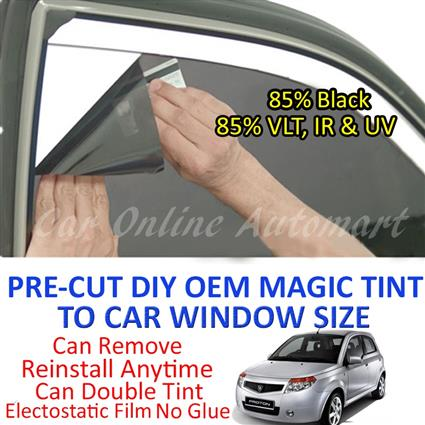 Proton Savvy Magic Tinted Solar Window ( 4 Windows & Rear Window ) 85%