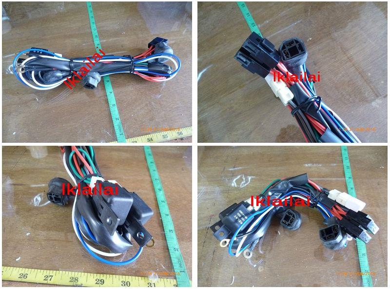 Proton Wira Head Lamp Wiring Kit