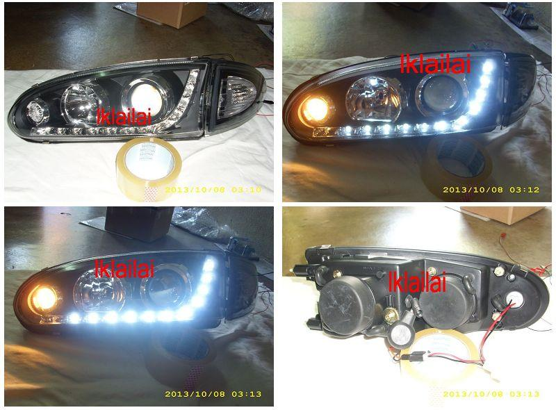 Proton WIRA / SATRIA Projector Head Lamp + Corner Lamp [1-side only]