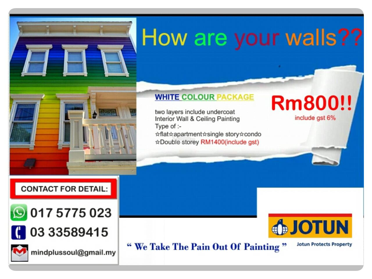 Providing professional, commercial, and residential painting services