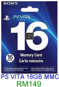PS VITA 16GB Memory Card ★Brand New & Sealed★