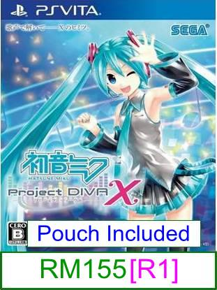 PS VITA Hatsune Miku -Project DIVA- X [R1] ★Brand New & Sealed&#..