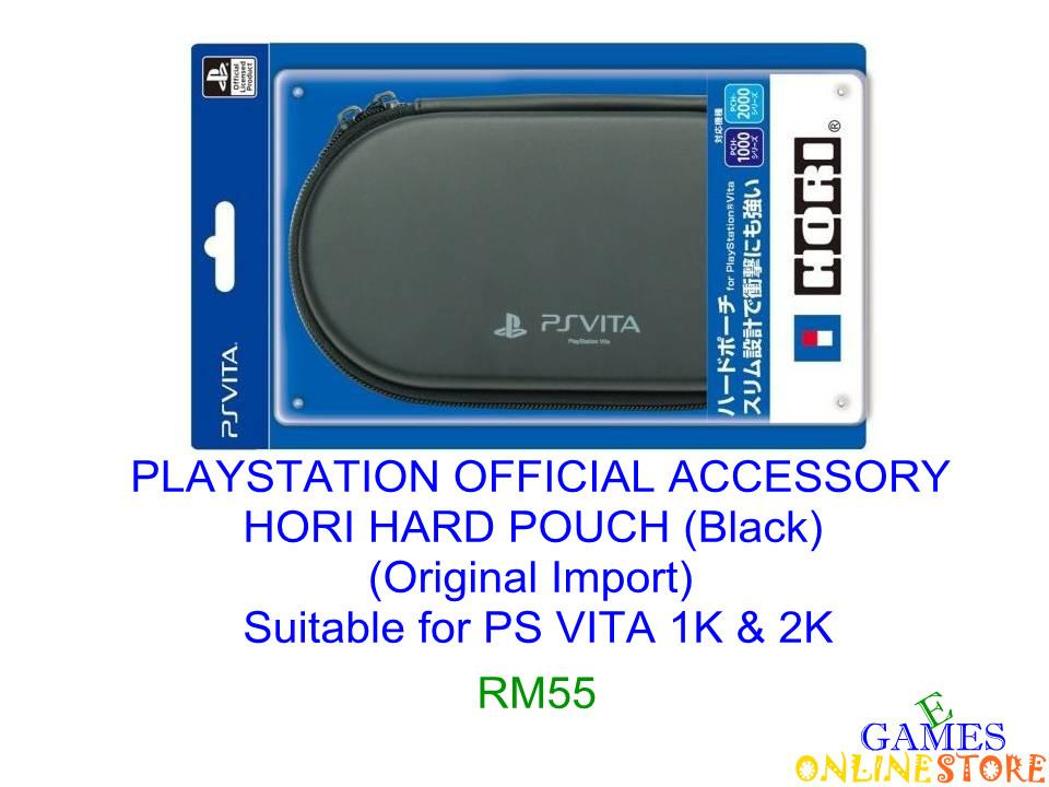 PS VITA HORI Hard Pouch (Black) (Import)★Brand New & Sealed&#973..