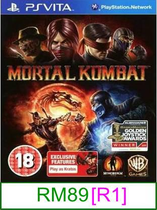 PS VITA Mortal Kombat [R1] ★Brand New & Sealed★