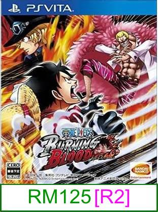 PS VITA One Piece Burning Blood [R2] ★Brand New & Sealed★