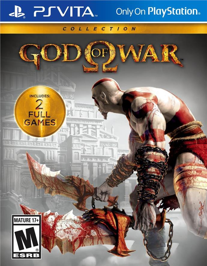 [NEW] PS Vita / PSVita / PSV God of War Collection R3 [ENG]
